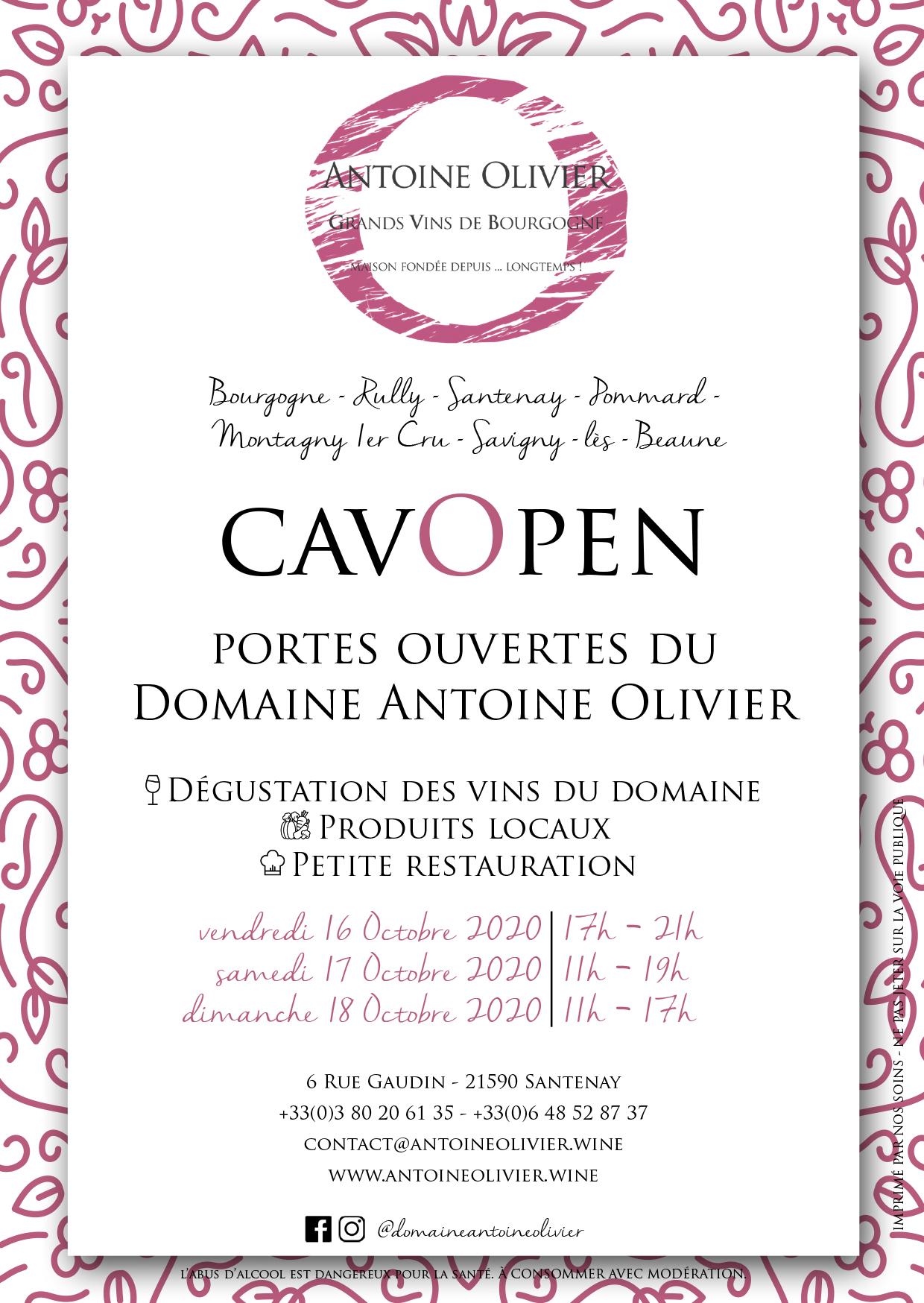 portes ouvertes Antoine Olivier